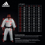 Adidas JUDO GI - CHAMPION 2.0 - IJF RED LABEL - HVID - REGULAR FIT